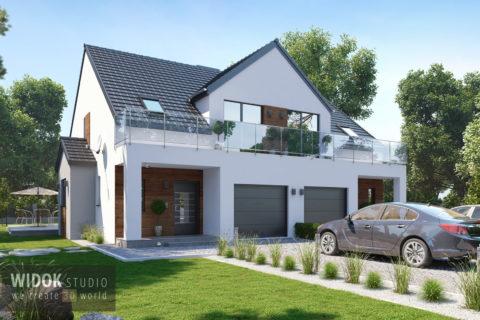 Wizualizacje 3D domu