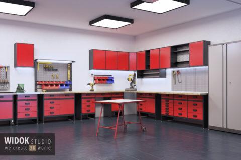 Wizualizacje produktowe mebli 3D
